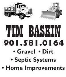 Tim Baskin Construction & Excavation Services
